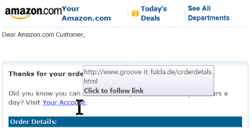 spam links